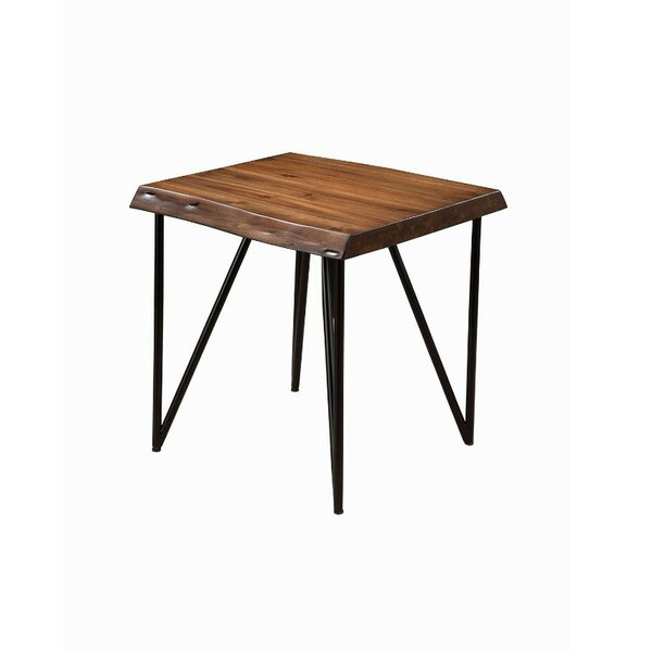 Boundary Bay Solid Acacia Wood End Table by Foundry Select