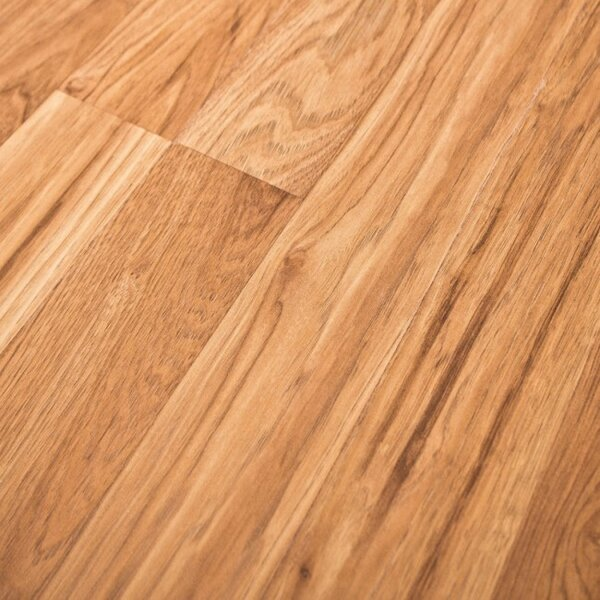 Home with Sound 8 x 47 x 7mm Hickory Laminate Flooring in Tan by Quick-Step