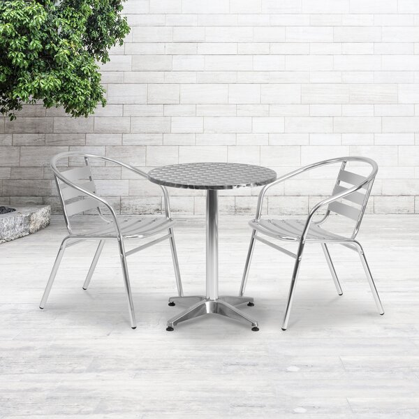 Isleton Round 3 Piece Bistro Set