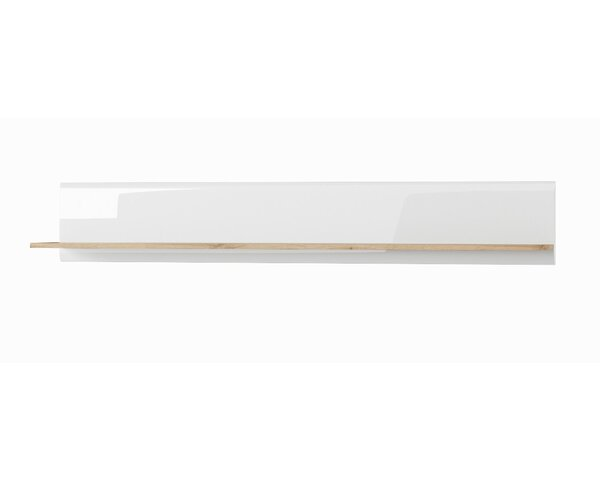 Vicente Wood Wall Shelf by Corrigan Studio