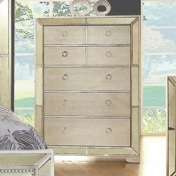 Longwood Victorian 7 Drawer Chest by Rosdorf Park