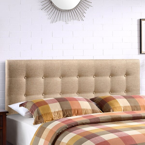 Corneau Upholstered Panel Headboard by August Grov
