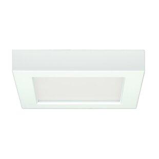Looking for Elzy 10.5W 5.5 Flush Mount LED Fixture 27K Square Wht 120V By Orren Ellis