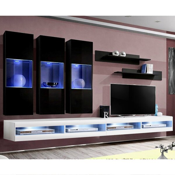 FLYE2 Floating Entertainment Center For TVs Up To 70