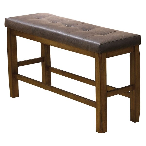 Isaiah Upholstered Bench by Charlton Home