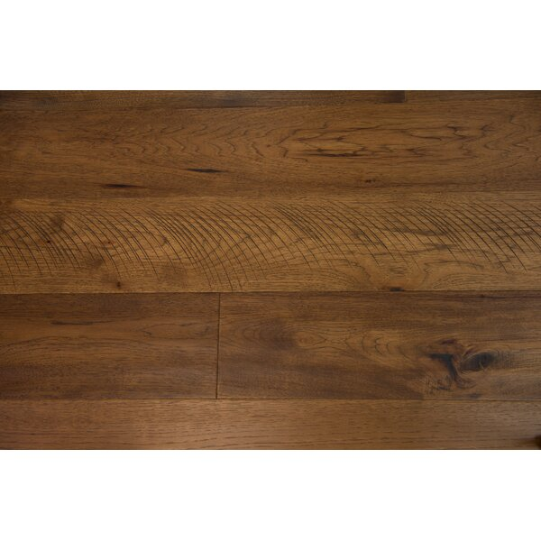 London 7-1/2 Engineered Hickory Hardwood Flooring in Caramel by Branton Flooring Collection