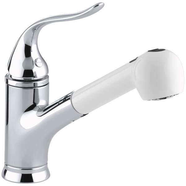Coralais Pullout Single Handle Kitchen Faucet by Kohler