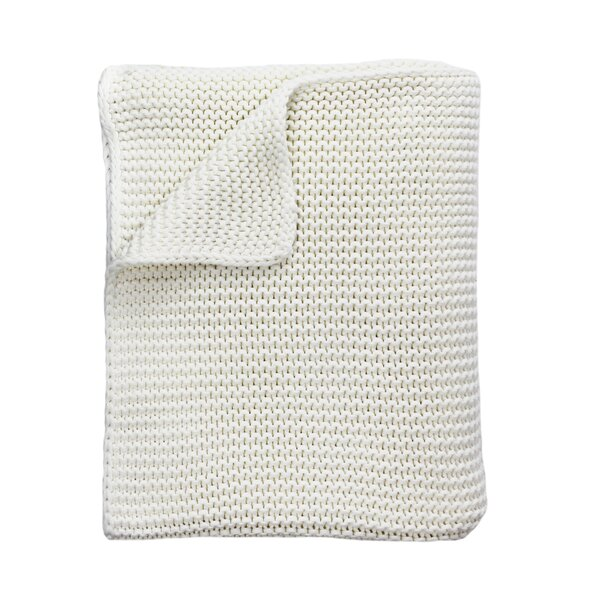 Commerce Heavyweight Cotton Throw by Eider & Ivory