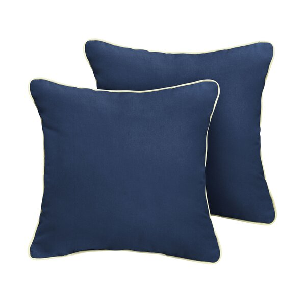 Warren Sunbrella Outdoor Throw Pillow (Set of 2) by Beachcrest Home