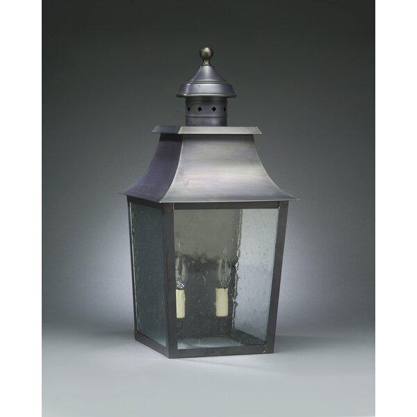 Sharon 2-Light Outdoor Flush Mount by Northeast Lantern