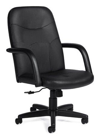 Luxhide High-Back Leather Executive Chair by Offices To Go