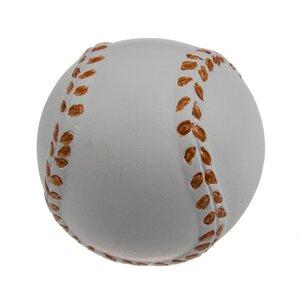 Handpainted Baseball Round Knob