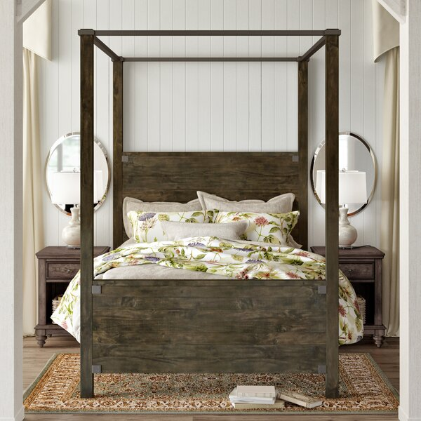 Wilda Canopy Bed by Birch Lane™ Heritage