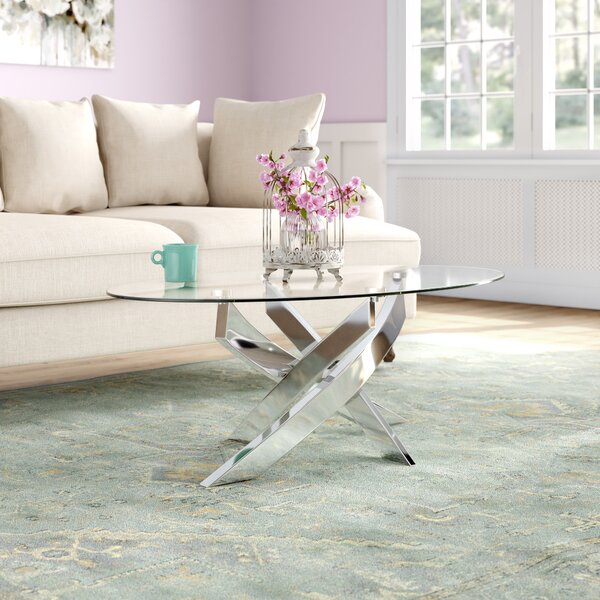 Magallanes Coffee Table With Tray Top By Orren Ellis