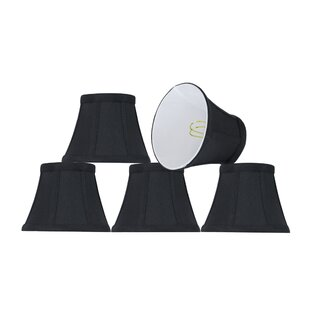 Best Modern Clip On 5'' Fabric Bell Lamp Shade (Set of 5) By Mercer41