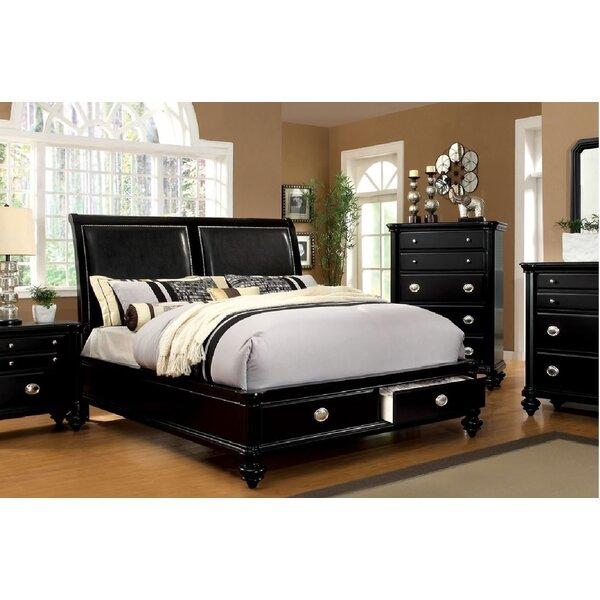 Mizer Upholstered Storage Platform Bed by Winston Porter