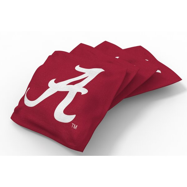 NCAA Bean Bag Set (Set of 4) by Tailgate Toss