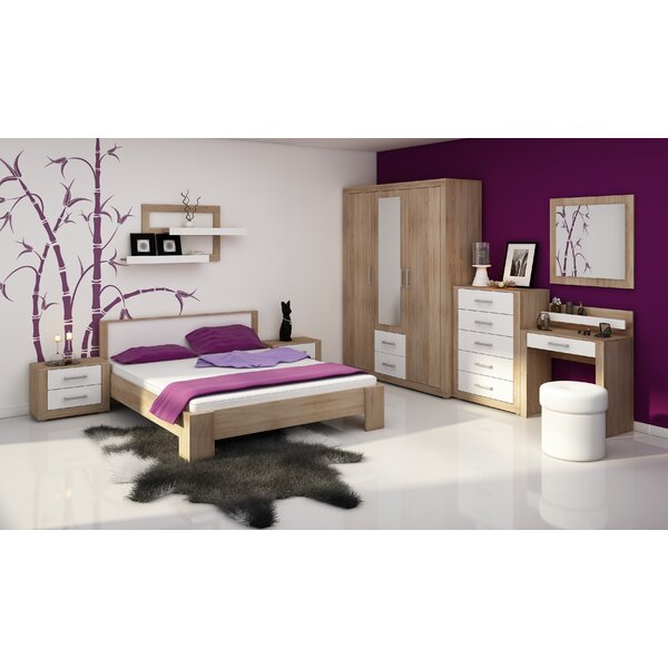 Suffield Queen Platform Configurable Bedroom Set by Ebern Designs