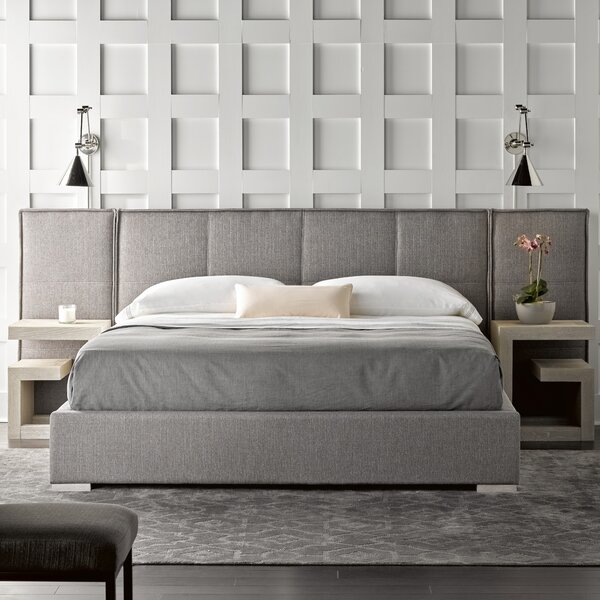 Fermin Upholstered Panel Bed by Brayden Studio