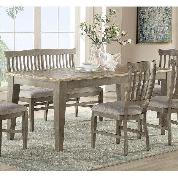 Cates 5 Piece Solid Wood Dining Set By One Allium Way