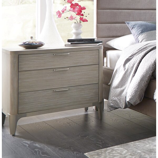 Anadarko 3 Drawer Nightstand by Modern Rustic Interiors