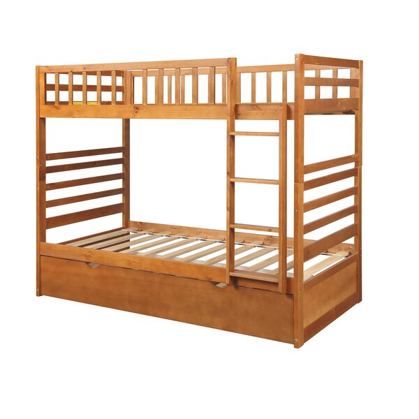 Brickendon Twin Bunk Bed with Trundle by Ebern Designs