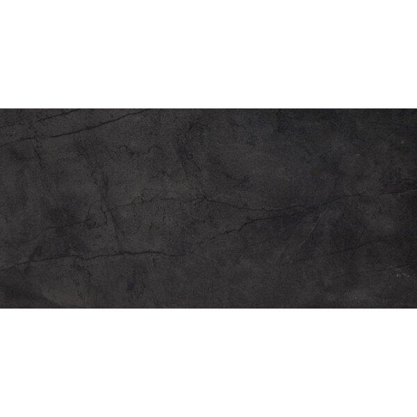 Citadel 24 x 35 Porcelain Field Tile in Black by Emser Tile