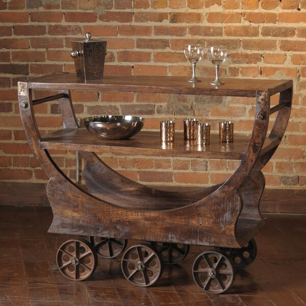 Siri Bar Cart by 17 Stories