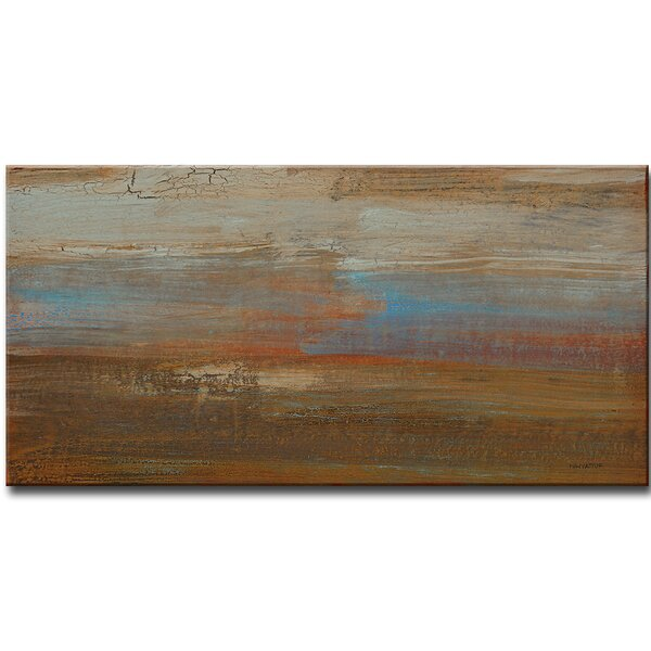 Canyon Ranch Sunset Painting Print on Wrapped Canvas by Trent Austin Design