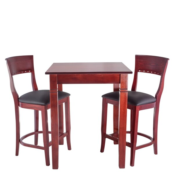 Tymon 3 Piece Pub Table Set by Darby Home Co