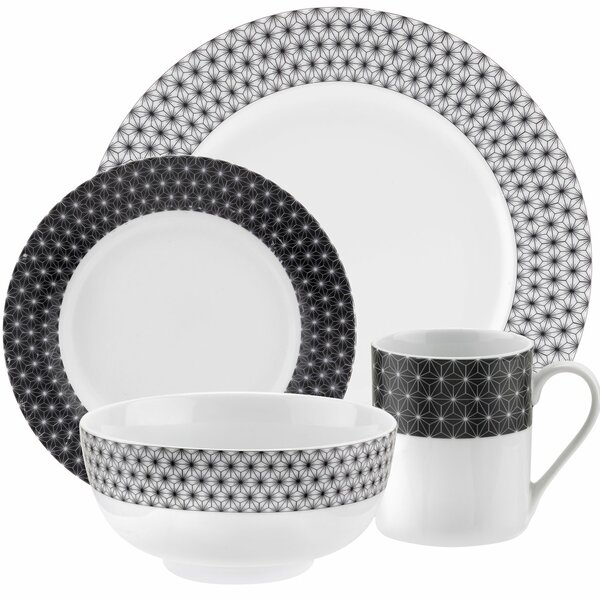 Retrospect 16 Piece Dinnerware Set by Spode