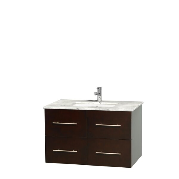 Centra 36 Single Bathroom Vanity Set by Wyndham CollectionCentra 36 Single Bathroom Vanity Set by Wyndham Collection