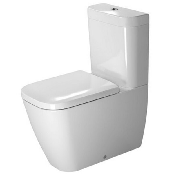 Happy D. 1.6 GPF Elongated Toilet Bowl by Duravit