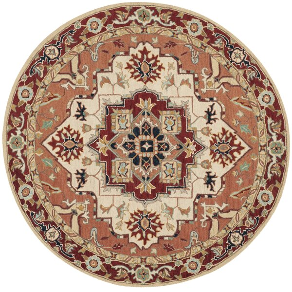 Chelsea Red / Ivory Outdoor Area Rug by Safavieh