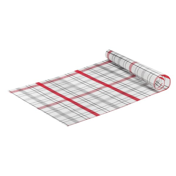 Art & Café PVC Plaid Runner by Guzzini