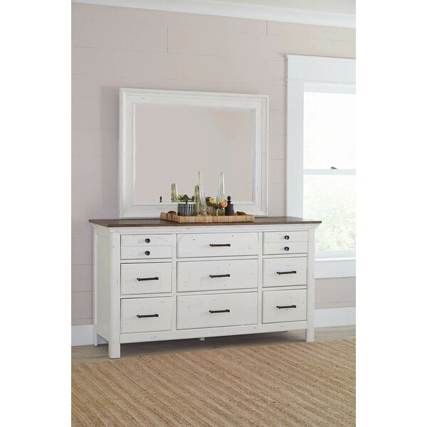 Stilwell 9 Drawer Double Dresser by Gracie Oaks