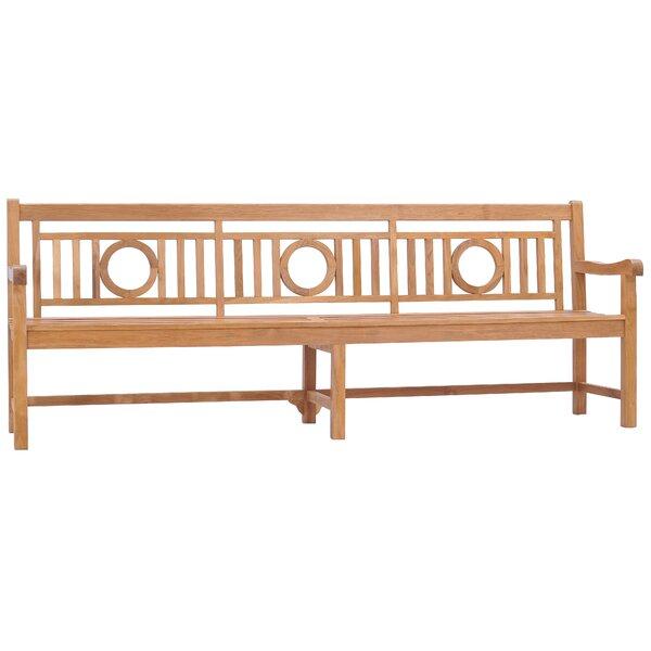 Goku O Teak Garden Bench by Foundry Select