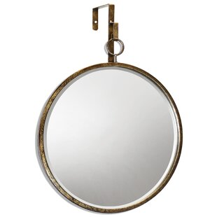 Gracie Oaks Cory Round Accent Mirror