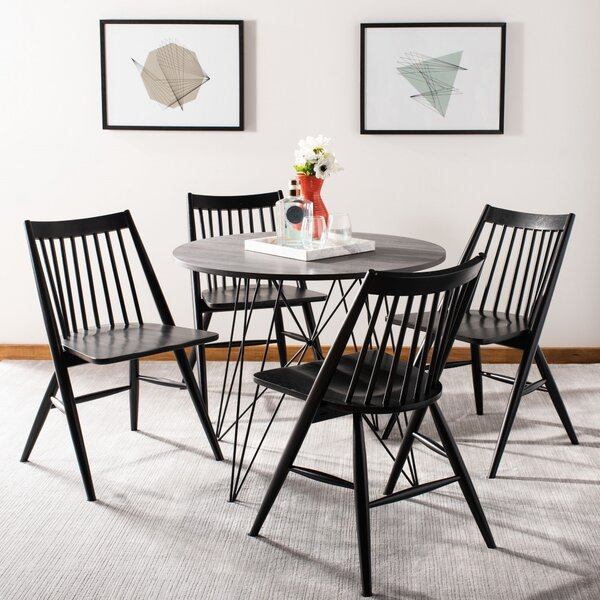 Clower 5 Piece Dining Set by Mercury Row Mercury Row