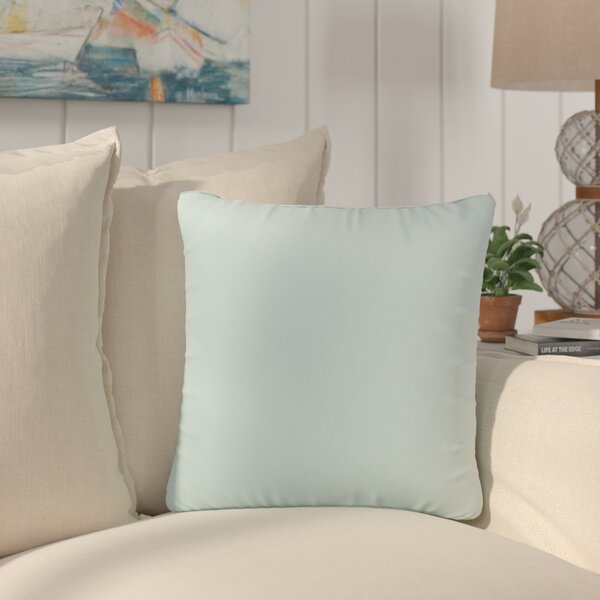 Saxon Indoor/Outdoor Throw Pillow (Set of 2) by Beachcrest Home