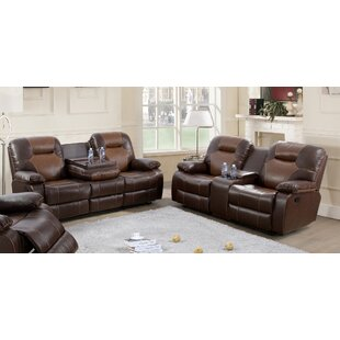 Antrell 2 Piece Reclining Living Room Set by Red Barrel Studio®
