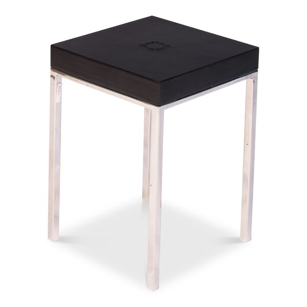 Vieira End Table by Orren Ellis