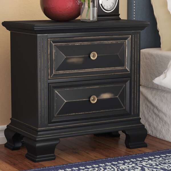 Ashkum 2 Drawer Nightstand by Darby Home Co