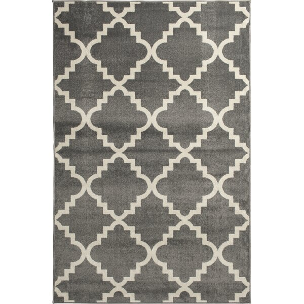 Sitz Stone/Snow Indoor/Outdoor Area Rug by Winston Porter