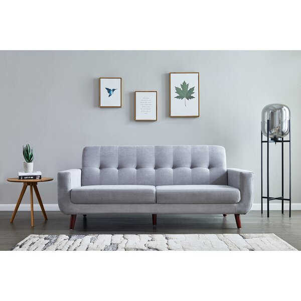 Farmersville 80'' Square Arm Sofa By George Oliver