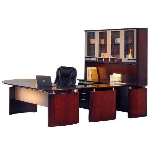 Ulster 8-Piece Office Set with Hutch