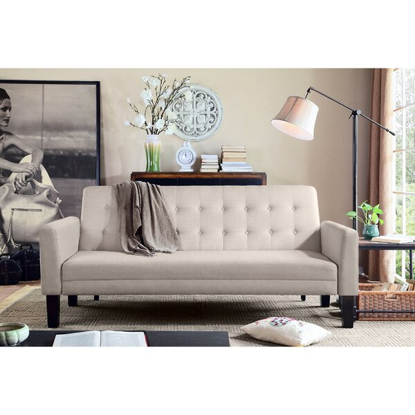 Greg Tufted Sleeper Sofa by Zipcode Design