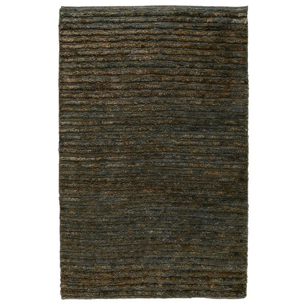 Marion Hand-Woven Ombry Blue/Brown Area Rug by Loon Peak