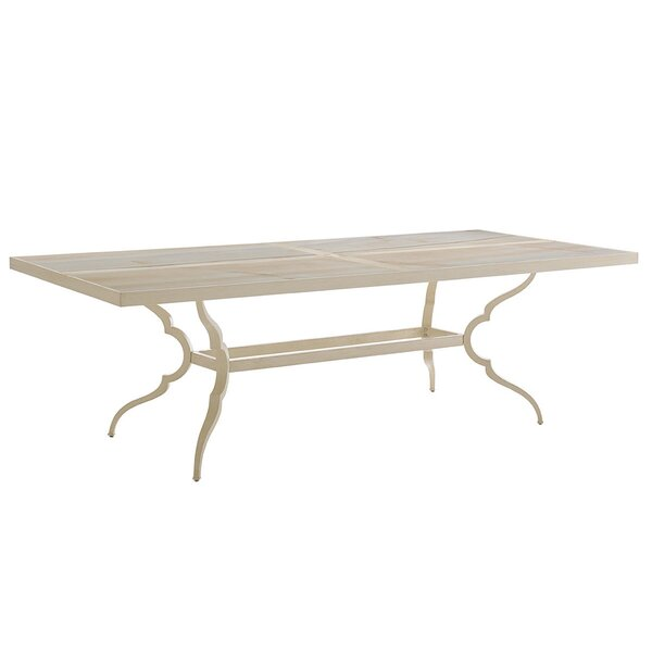 Misty Garden Aluminum Dining Table by Tommy Bahama Outdoor
