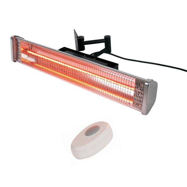1500 Watt Electric Mounted Patio Heater by AZ Patio Heaters